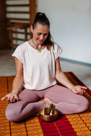 Wohltat Klangschalen Meditation